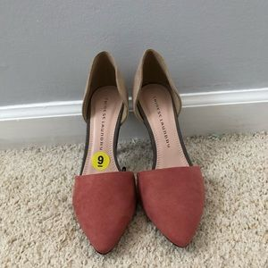 NWOT Chinese Laundry color block heels